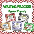 These Writing Writing Process anchor posters can be used in two ways: As a visual reminder to your students of the steps to writing, or used as a c...