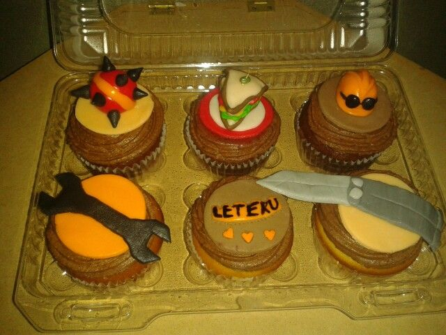 Team Fortress 2 Cupcakes