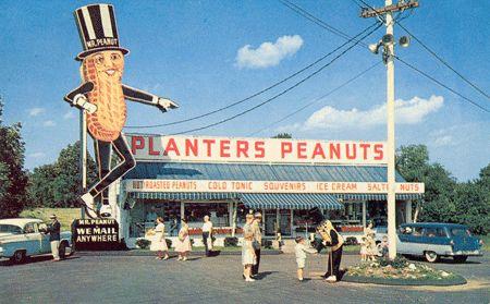 Planters Peanuts!!! http://dinerhotline.files.wordpress.com/2009/05/planters-peanut-house_peabody.gif%3Fw%3D500