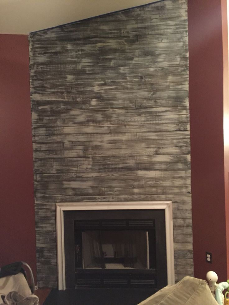 Best 25 Fireplace Accent Walls Ideas On Pinterest Wood