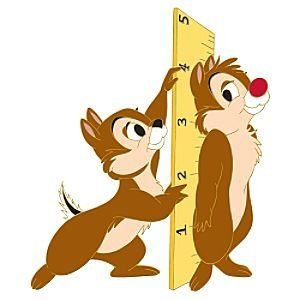 Chip @ Dale | Fantasies Come True > Pins > Chip 'N Dale with ruler jumbo pin