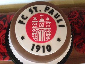 FC St.Pauli Torte - Carlottas Backwahn