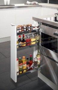 Kitchen storage | apothekerskast kruidenlade