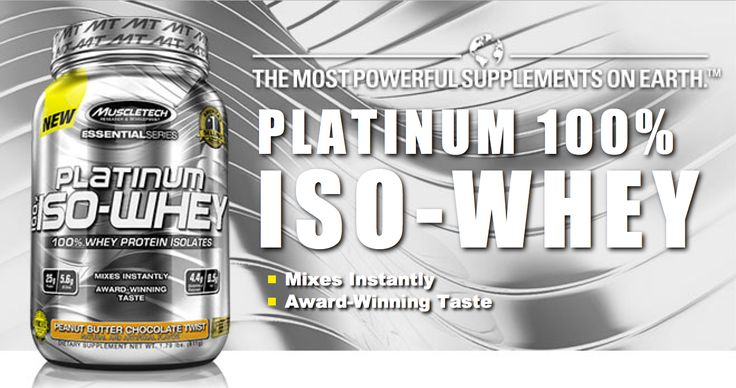 Platinum 100% Iso-Whey uses only ultra-pure, microfiltered whey protein isolates, the purest form of whey protein you can feed your body.