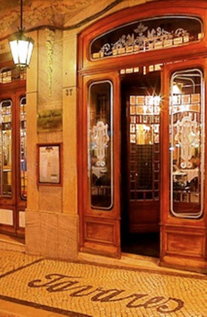 Restaurante Tavares desde 1784.
