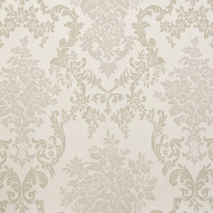 Tapet textil crem floral 072319 Sentiant Pure Kolizz Art