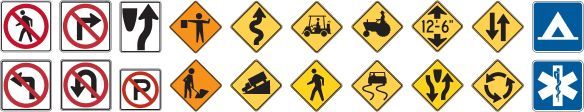 Test your sign knowledge! Traffic and Road Signs