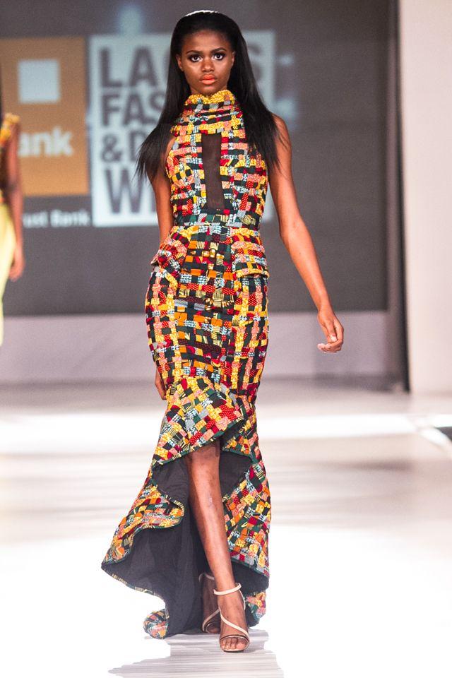 Beatrice Black Atari At Lagos Fashion And Design Week 2013