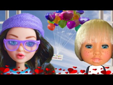 Skidamarink Song | Happy Valentine's Day! | Nursery Rhymes | Animated Talking Dolls - YouTube