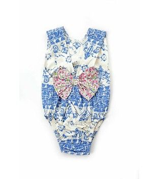 ANAIS BODYSUIT HIPPY BLUE