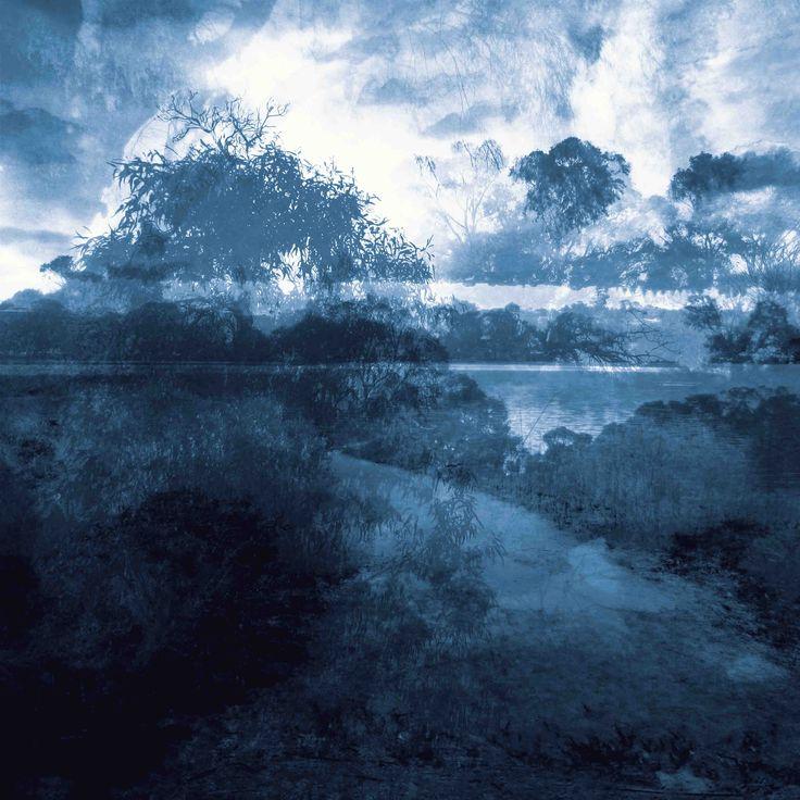 James Mclean Mixed Media Artist Lakeside Medium: Photography + Digital Manipulation Size: 100cm x 100cm