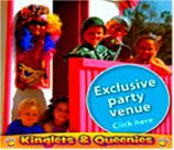 Kinglets & Queenies Party Venue in Ruimsig is a magical kingdom with 4 different party sections to choose from, each with its own unique features. Choose from: Fabulous Farmyard, Pirates Cove, Classic Celebration or Enchanted Garden.