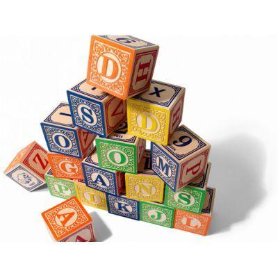 Alfabet blokken Dutch ABC Blocks