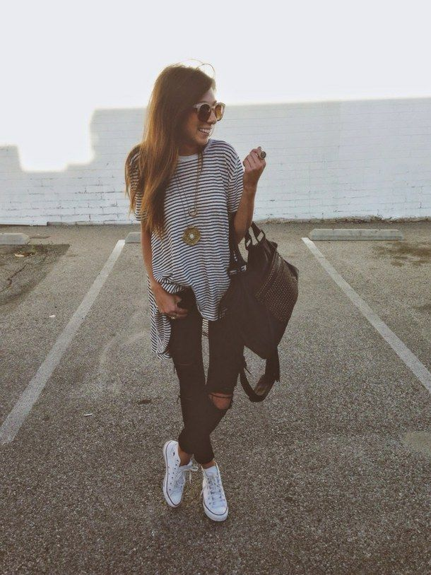 high top converse tumblr outfits