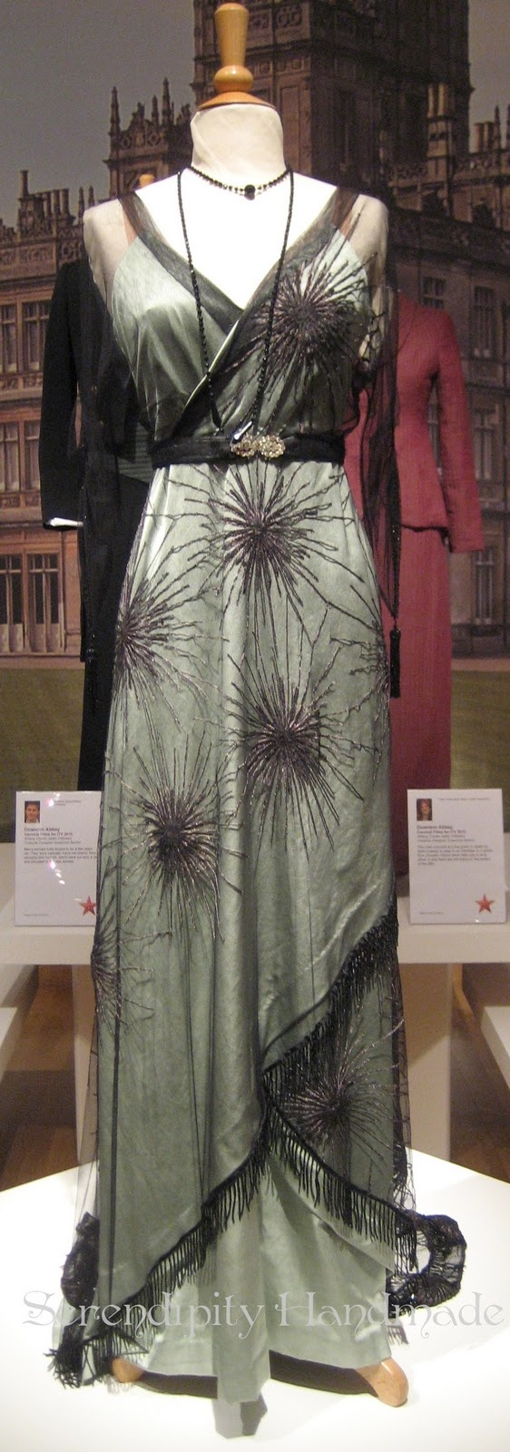 Downton Abbey evening dress - Worn by Lady Mary Crawley, played by Michelle Dockery