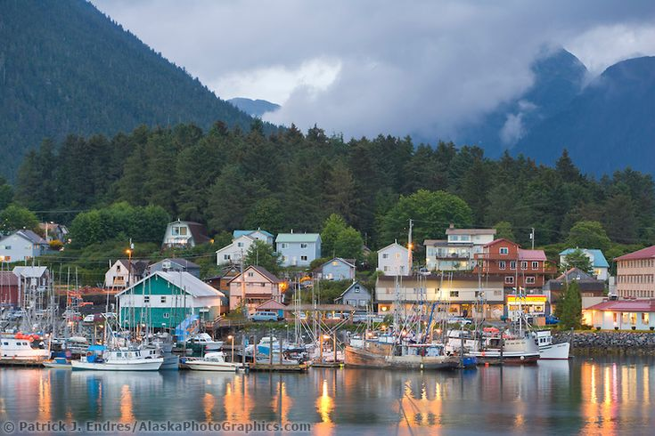 Sitka Alaska photos: Professional stock photography, art decor pictures and information about Sitka, Alaska.
