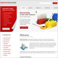 Healthybuilding Architects Template | Website Design Alaska  | #web #webdesign #WebsiteDesignAlaska  |