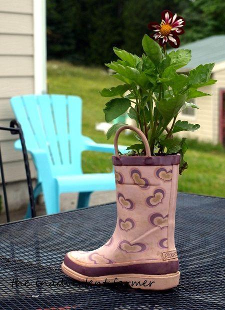 Sensational Shoe Planters