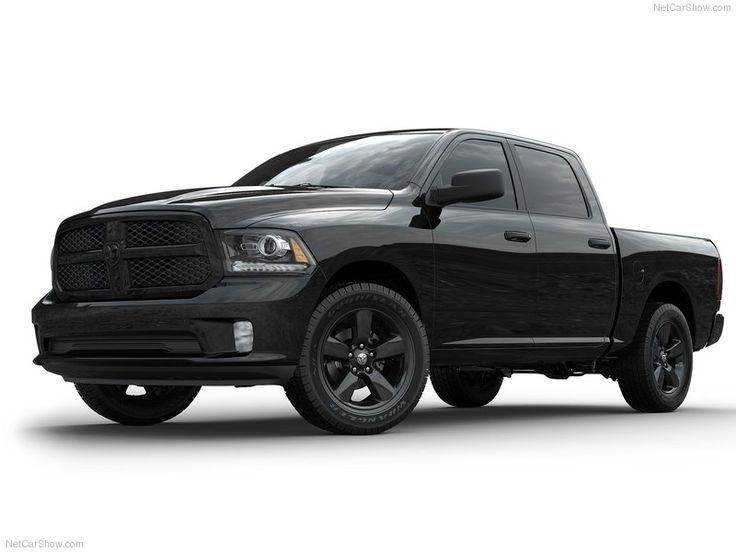 The new Black Express takes Ram's aggressive good looks to an all new sinister level by 'blackening out' the entire truck.