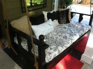 Avari Bed Swings from Vintage Porch Swings - Charleston SC eclectic porch