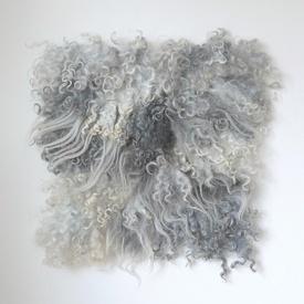 handmade felt home textile $125