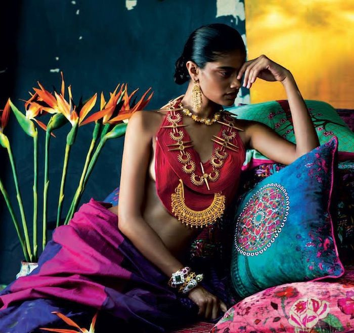 Bold Colours and Gorgeous Jewels