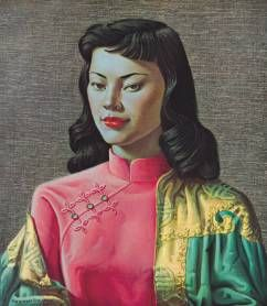 Miss Wong by Tretchikoff