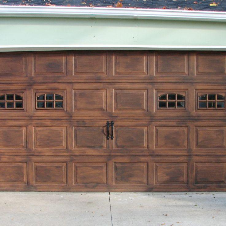 Faux Wood Garage Door Panels