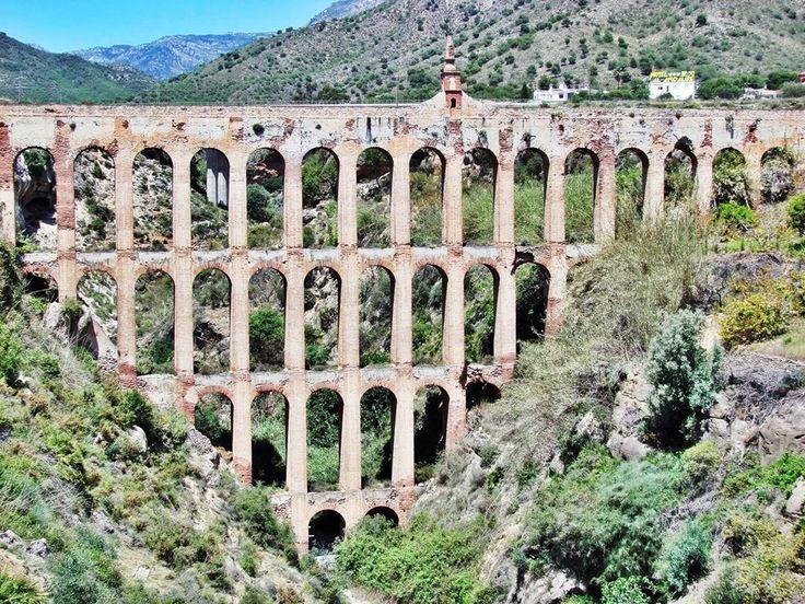 [Acueducto de Nerja, España] » aqueduct, Spain