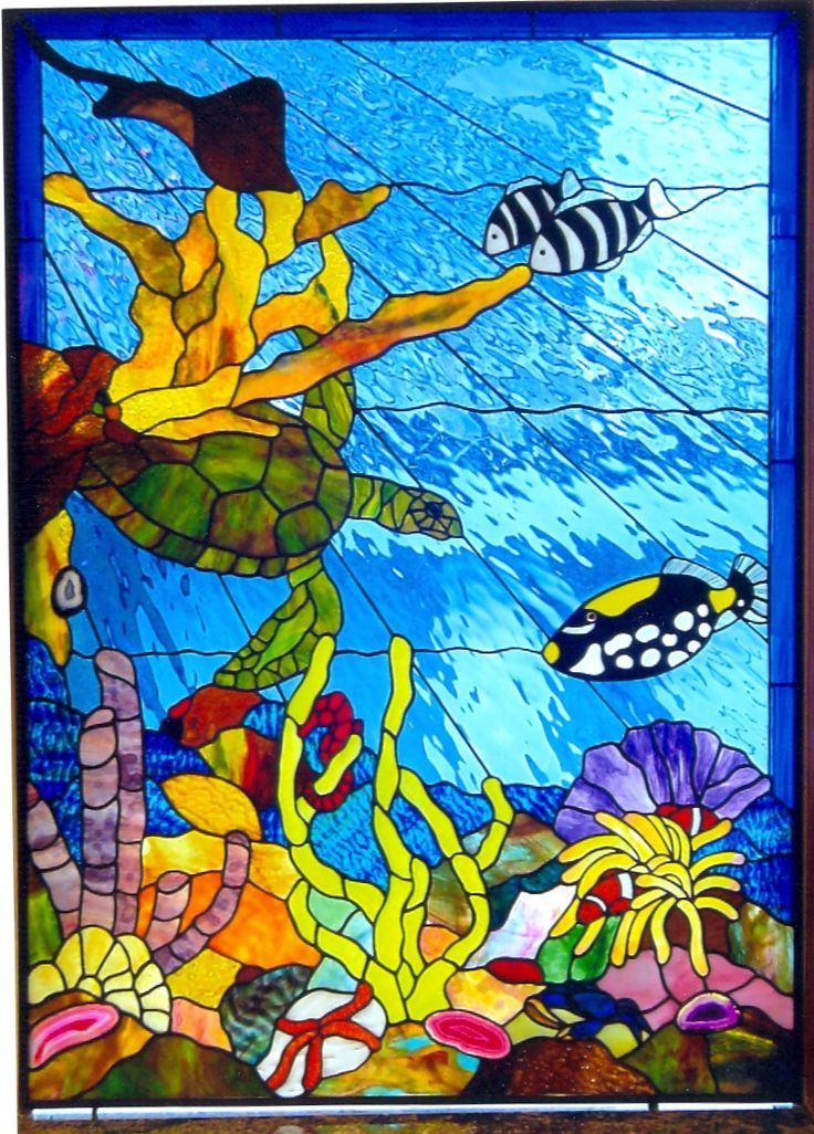 17 Best Images About Stain Glass Fish On Pinterest
