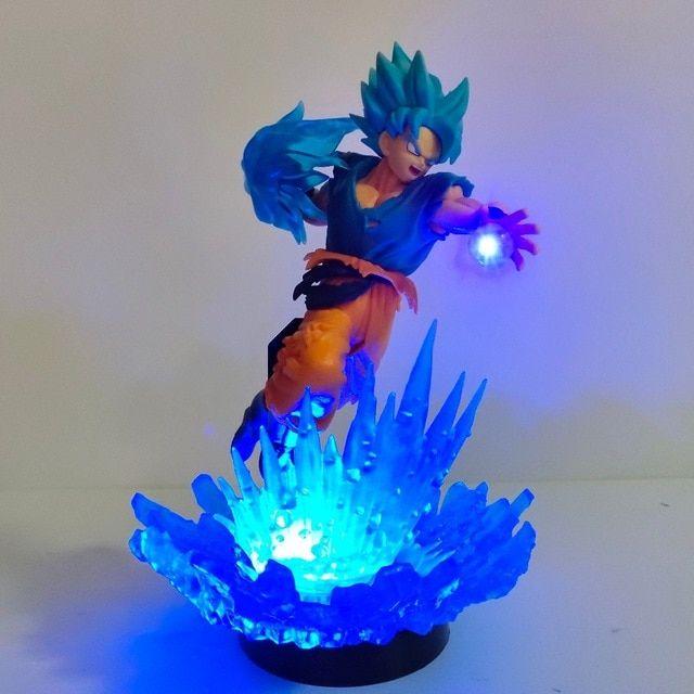 Dragon Ball Super Lampara Goku Led Desk Lamp Dragon Ball Z Lampara De Goku Night Light For Christmas Gift Dropshipping Lampara Goku Dragones Dragon Ball