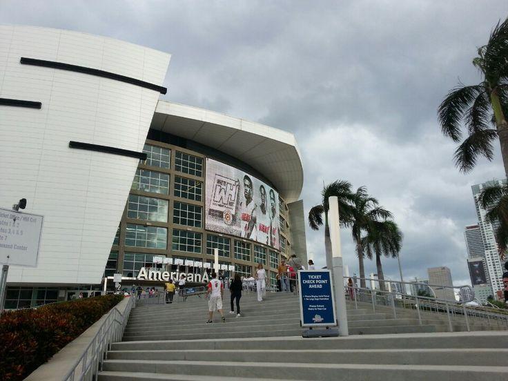 American Airlines Arena in Miami, FL