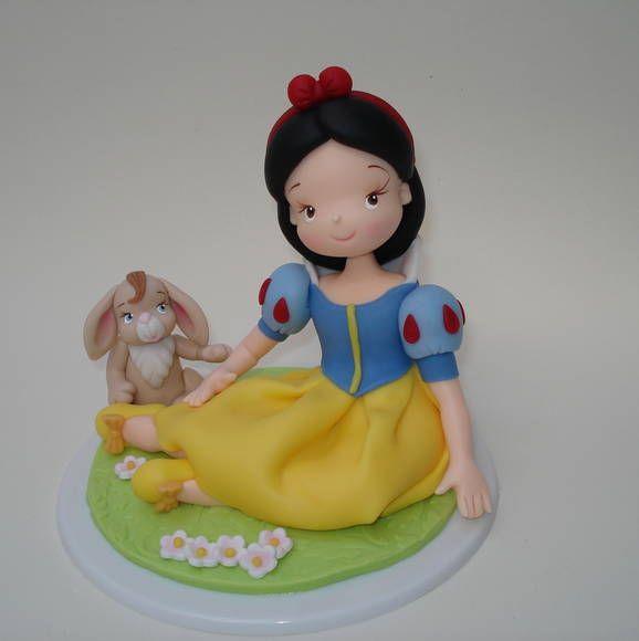 Topo de bolo da Branca de Neve | De Biscuit | 2B28CD - Elo7