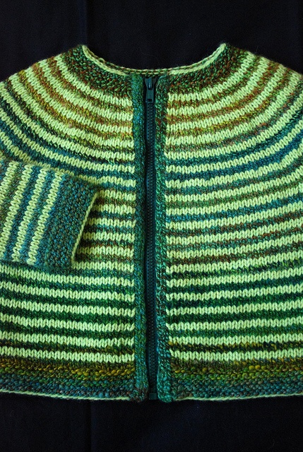 This is the sweater Alice made for Arlo. This version is gorgeous (as was hers!). If I made it, I would probably just leave out the zipper or make it a pullover.