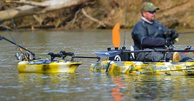 VIDEO: KAYAK KADDY IN ACTION - Kayak Fishing Blog