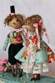 Mimin Dolls: grote neuzen Couple