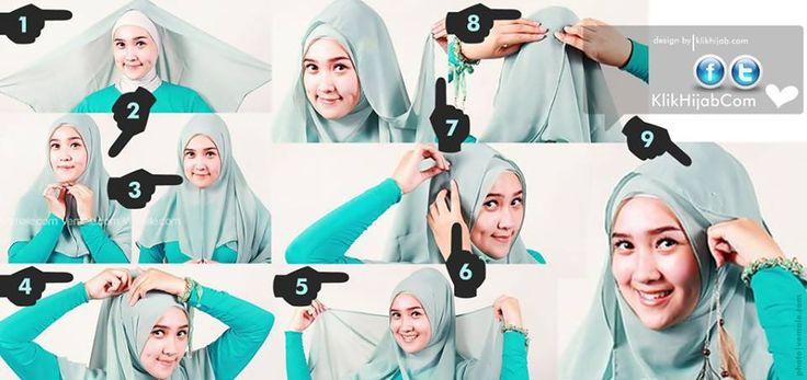 Tutorial Hijab Modern 45