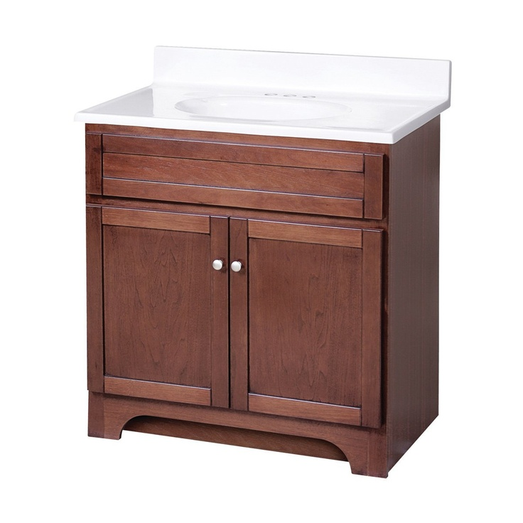 Columbia 30 inch bath vanity combo for Bathroom 30 inch vanity