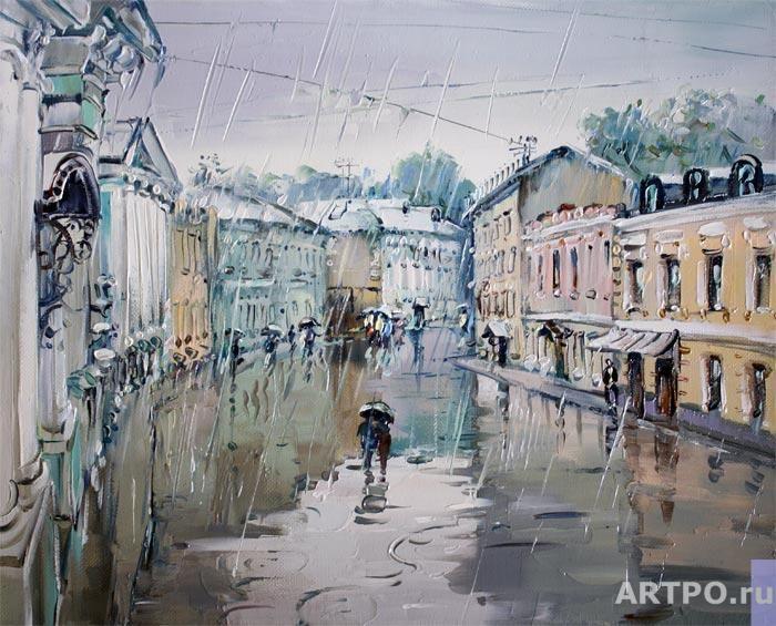 Демиденко Сергей. Дождливая погода