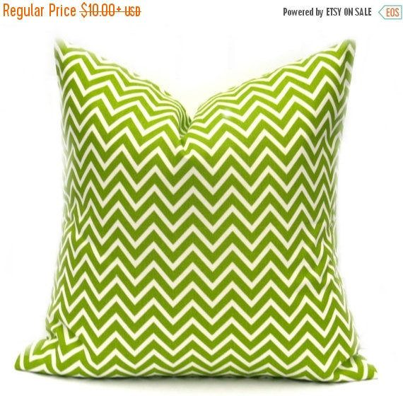 15% Off Sale Green Pillow Cover Decorative Pillow By EastAndNest