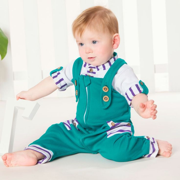 Baby & Toddler Zip Overalls and Bodysuit set SS15 Li'l Zippers Baby Fashion