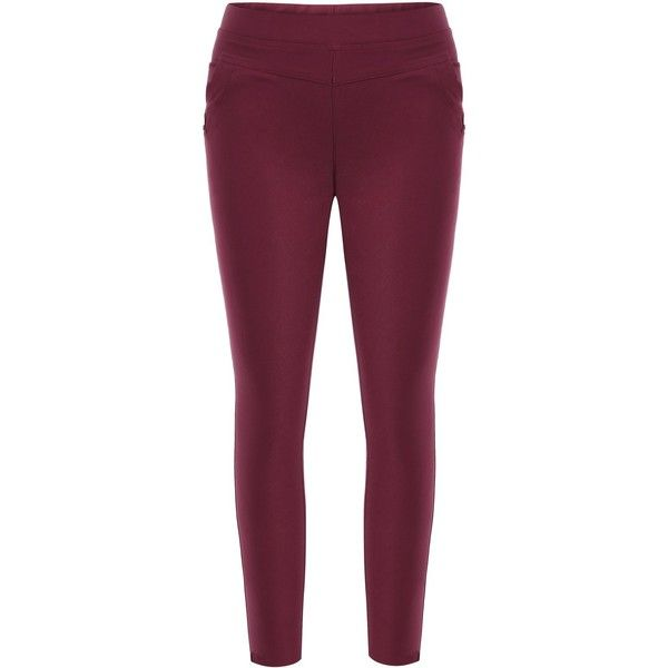 Pencil Plus Size Skinny Leggings ❤ liked on Polyvore featuring pants, leggings, skinny pants, womens plus size leggings, pencil pants, purple skinny pants and skinny trousers