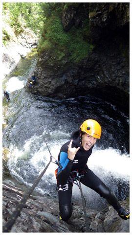 Eskamer Aventure - Sainte-Anne-des-Monts, Gaspésie - Kayak de mer - Canyoning