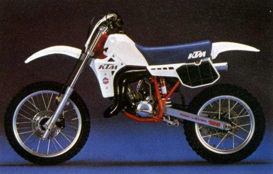 KTM 125cc. 1985