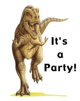 Free Kids Party Cards: Golden Book Dinosaur Invitations - Kids Printable Activities - Kaboose.com