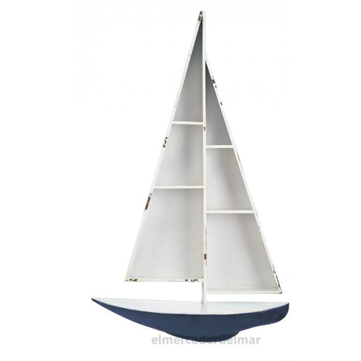 Estantería barco velero