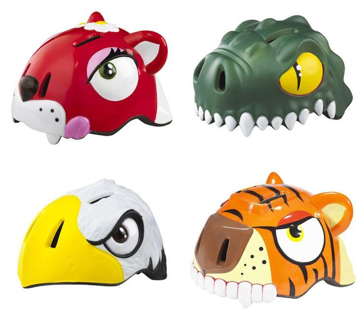 Kid's bike helmets from Danish company Crazy Stuff