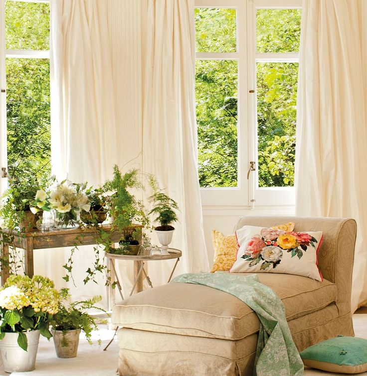 M s de 25 ideas incre bles sobre cortinas largas en for Cortinas desde el techo