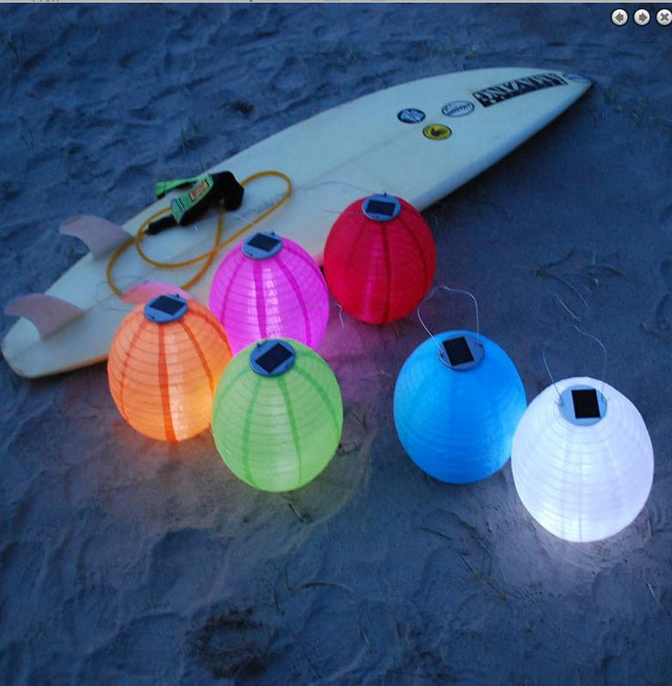 Bright Beautiful Hanging Solar Lanterns