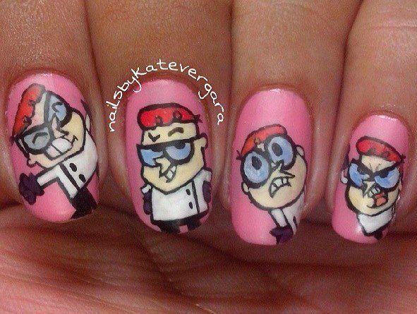 Dexter's Laboratory Nails
